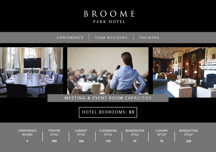 Broome Park Conferences & Meetings